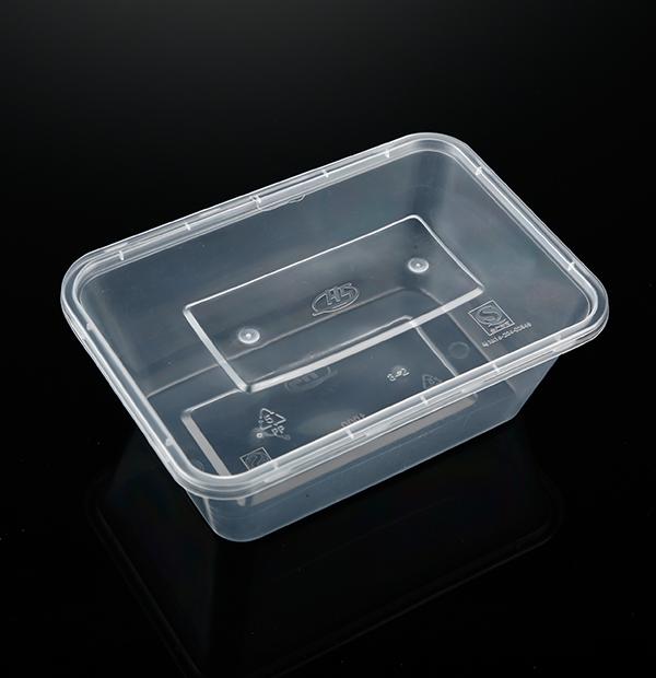 小1000ML方盒(透明)1X300套