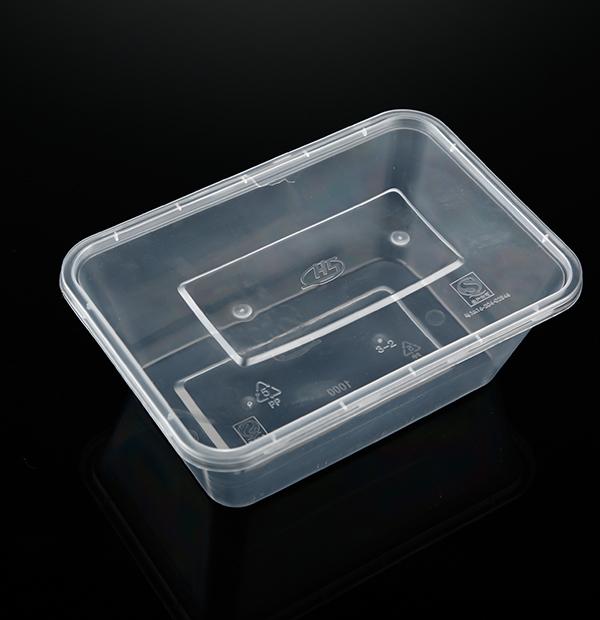 大1000ML方盒(透明)1X300套
