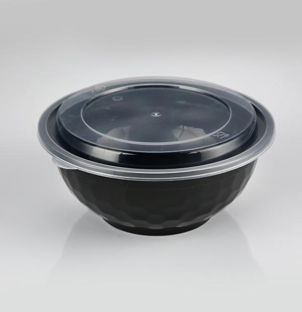出口36安钻石碗1X150套(黑色)
