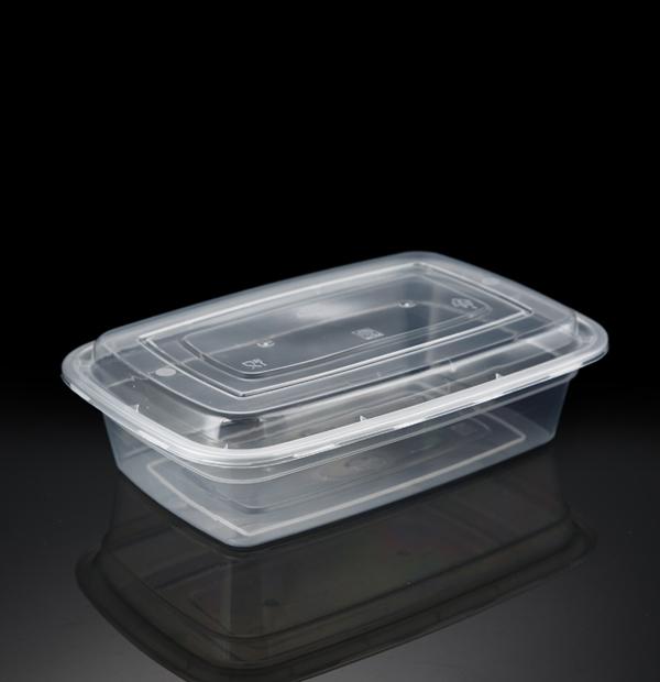 美式1000方盒1X150套(透明)