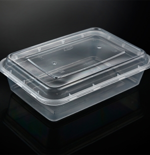 1000ML高盖盒(透明)1X150套