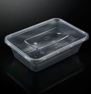 小500ML方盒1X300套(透明)
