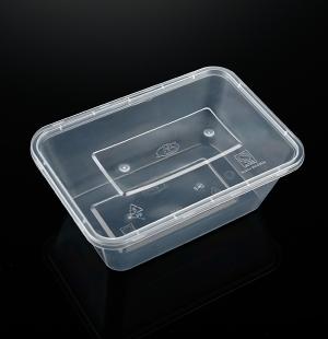 吴中小1000ML方盒(透明)1X300套