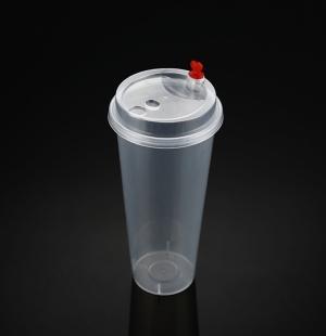 9070奶茶杯(透明分体盖)