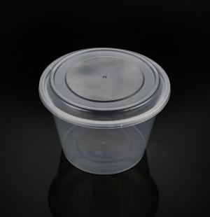 2000ML高盖圆碗(透明)1X180套