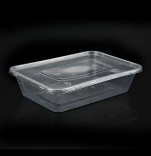 大500ML方盒1X300套(透明)