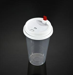 9050奶茶杯(奶白分体盖)