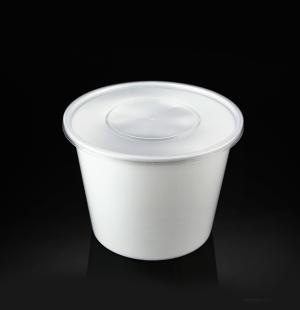 2000ML圆碗(奶白色)1X180套